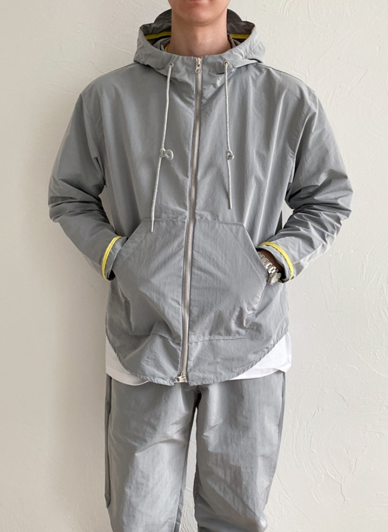 [Set-up] Rip Light Hoody jacket(3color)