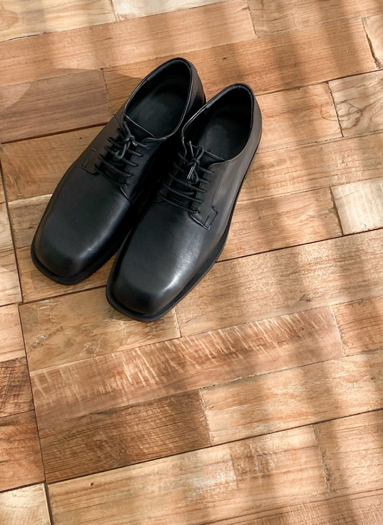 [20 S/S NEW] R-toe Derby shoes
