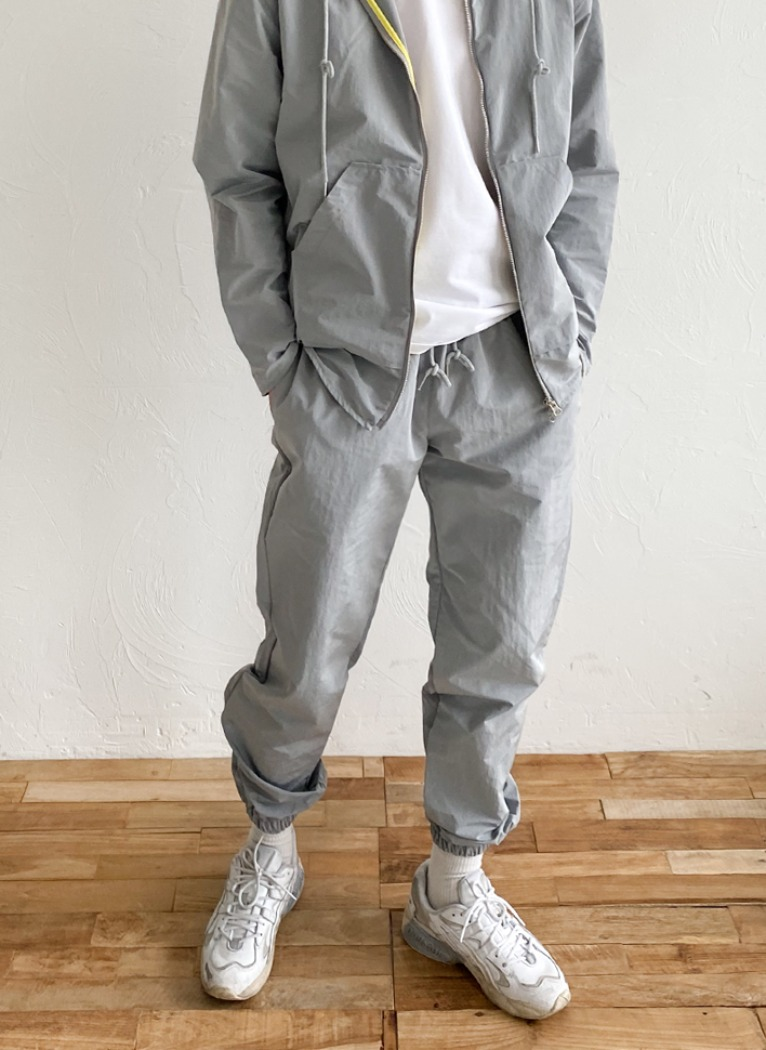 [Set-up] Rip Light Jogger pants(3color)