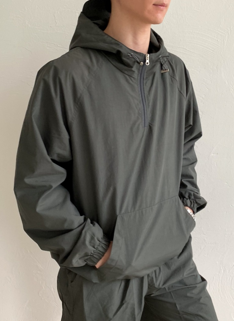 [Set-up] Pure Mesh Anorak(4color)