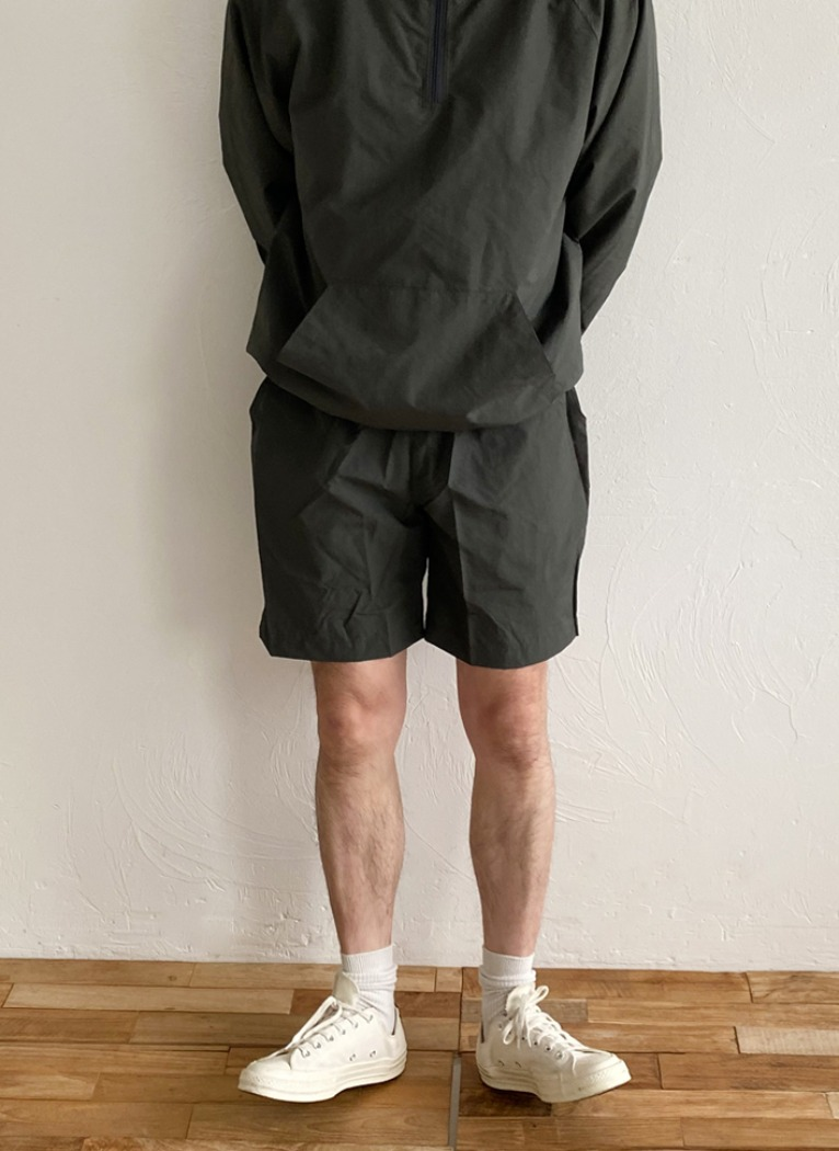 [Set-up] Pure Mesh Harf pants(4color)