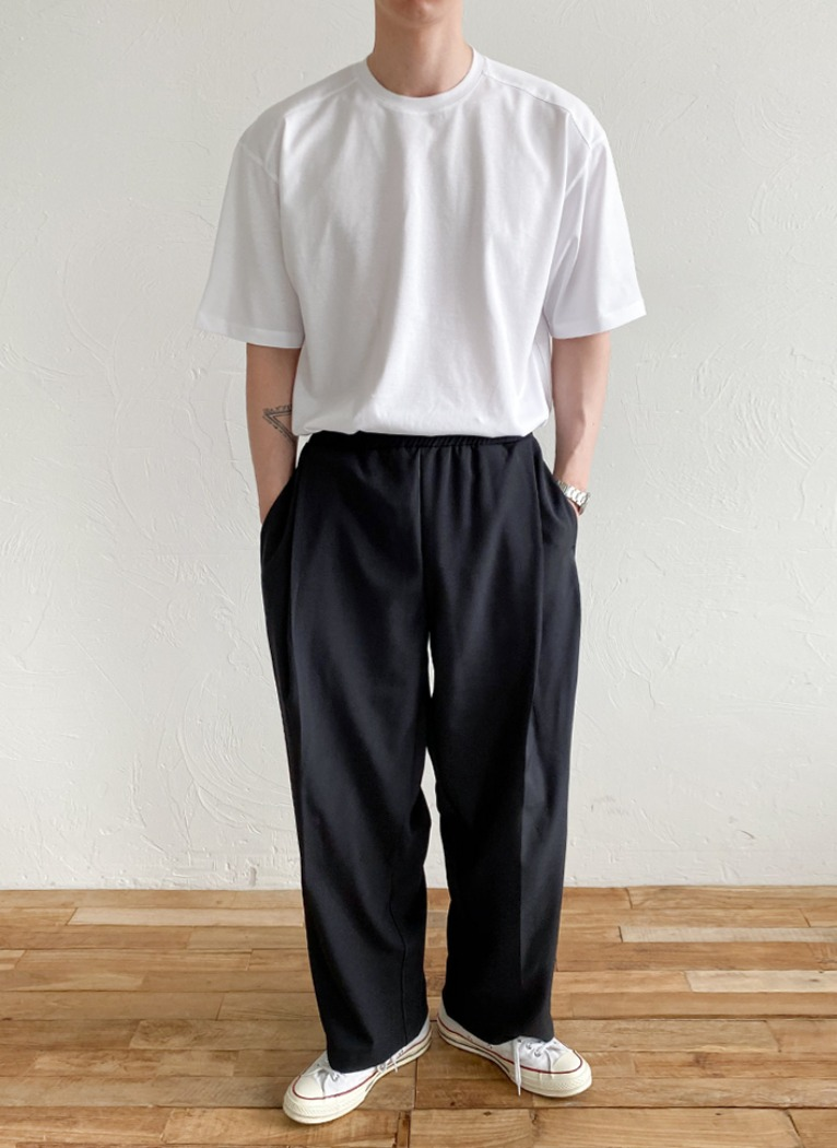 [Set-up] Awesome Ballon Wide Pants(3color)