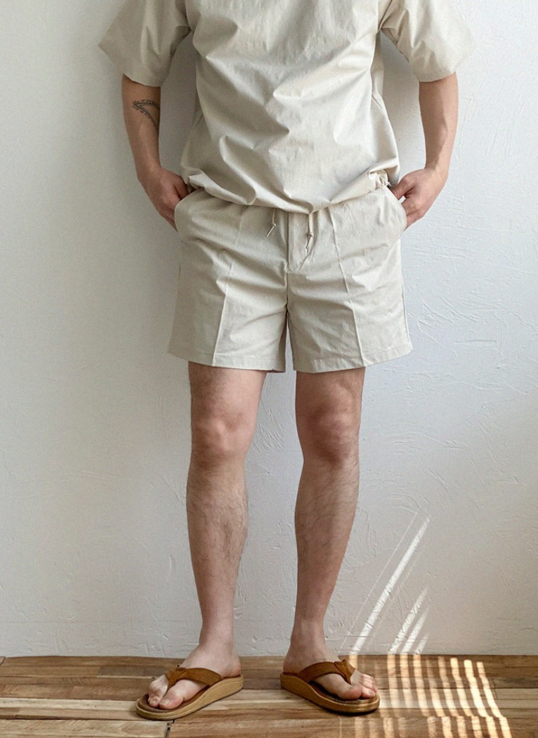 [Set-up]String Nylon Shorts(4color)
