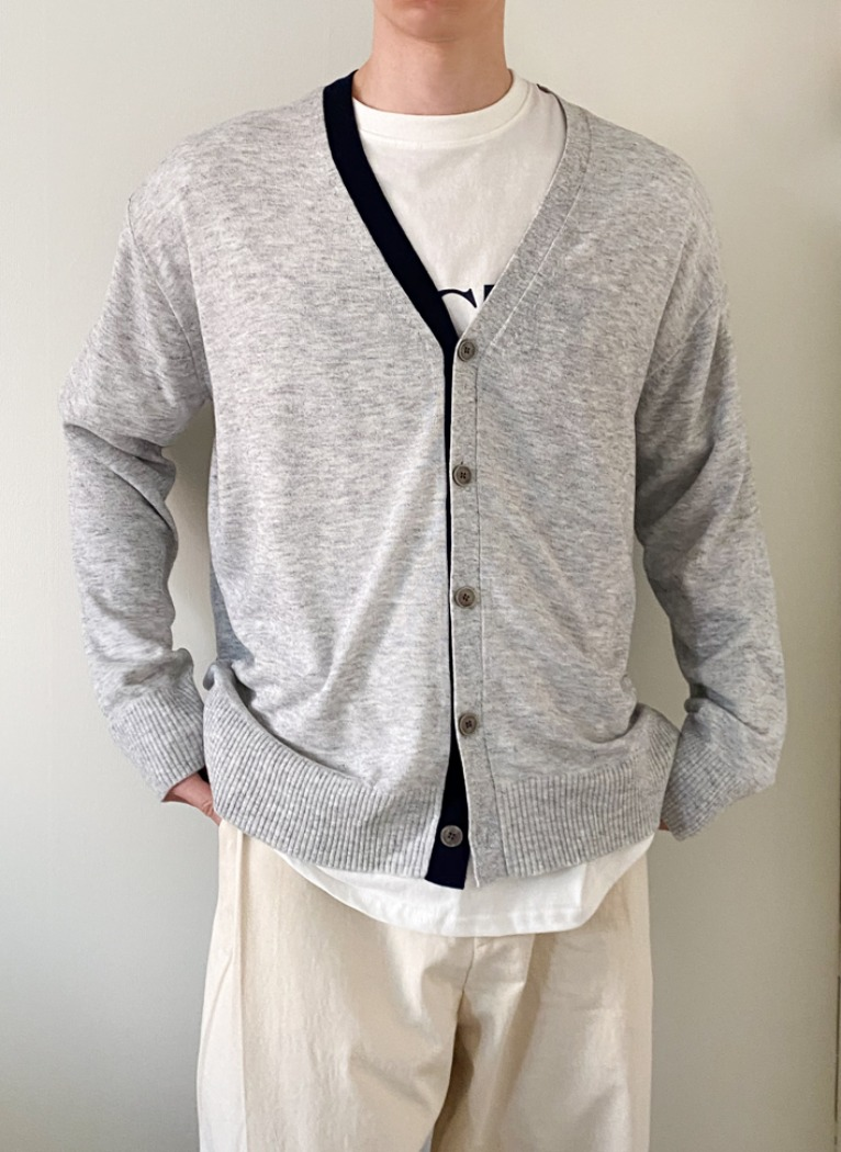 Line Spring Cardigan(2color)