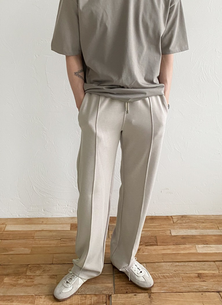 Easy Banding Wide Pants(3color)