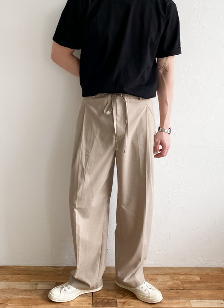 Flat Wide Pants(3color)