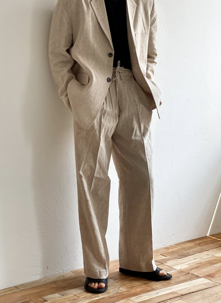 [Set-up] Stan Linen wide pants(3color)